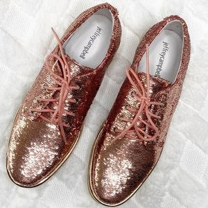 JEFFREY CAMPBELL sequin lace up
